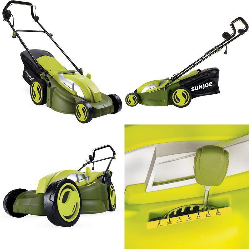 Sun Joe MJ403E Mow Joe 17-Inch 13-Amp Electric Lawn Mower/Mu