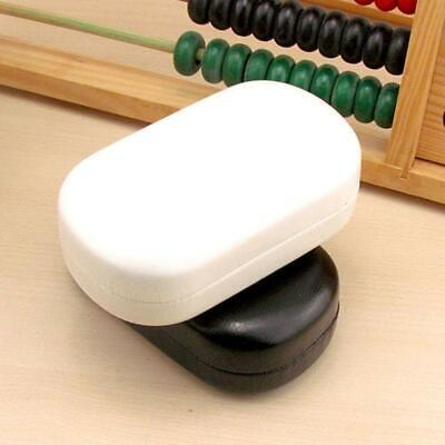 PU Leather Contact Lens Storage Case Box Container Travel Kit Solid Color (Solid Color Contact Lenses)