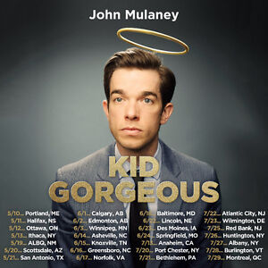 2 Tickets to John Mulaney at the NAC - Front Row / Center