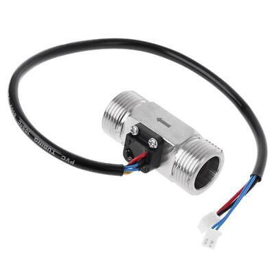 G34 Water Flow Meter Ntc Temperature Digital Hall Effect Flow Sensor Turbine