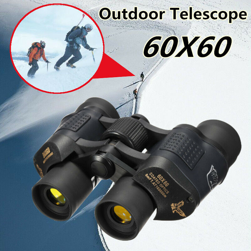 Day Night Vision Binoculars 60x60 HD 3000M High Definition Outdoor Telescope HOT