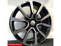 """**18"""" Adidas Alloys & tyres for VW Golf MK5 MK6 MK7 Jetta Caddy Seat Leon Audi A3 etc**"""