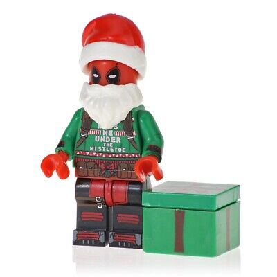 DEADPOOL SWEATER CHRISTMAS SANTA MINIFIGURE FIGURE USA SELLER NEW IN PACKAGE
