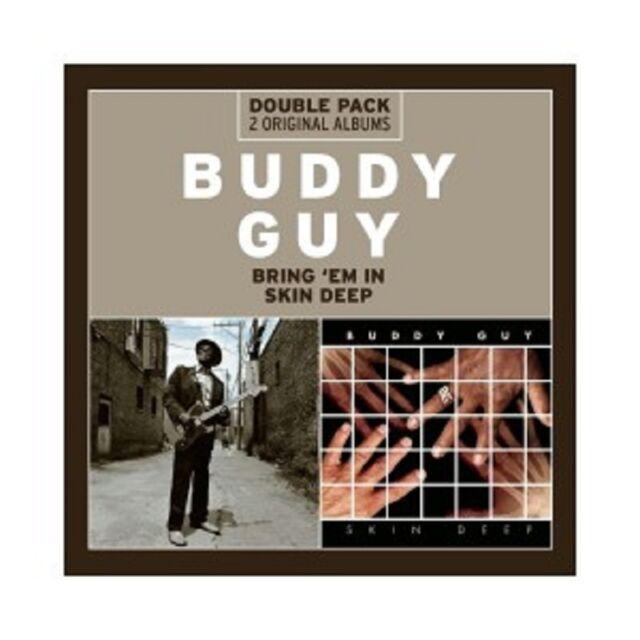 BUDDY GUY - BRING 'EM IN/SKIN DEEP  2 CD  25 TRACKS BLUES JAZZ  NEU