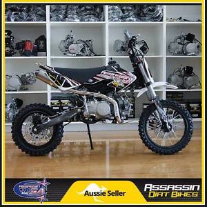 Assassin A6R BLACK 140cc Big Bore YX Dirt Bike Pit Mini Bike Caringbah Sutherland Area Preview
