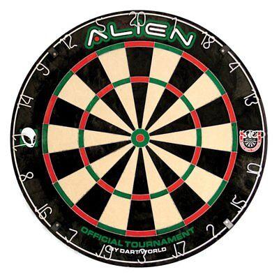 Dart World Alien Bristle Dart Board, Black