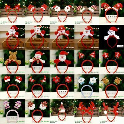 Hair Ear Women Christmas Antlers Party Costume Deer Elk DIY headband Reindeer](Diy Reindeer Antlers)