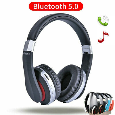 MH7 Foldable Wireless Bluetooth Stereo Headset Headphones+Mic For iPhone Samsung