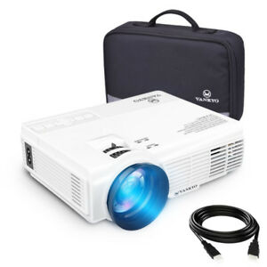 2200 lumens LED Portable Projector with Carrying Bag NEW