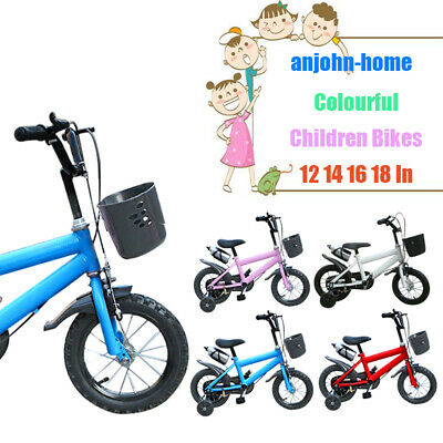 Colorful Children Bike Kids Cycling Alloy Frame Child Bicycle New 12 14 16 18 In
