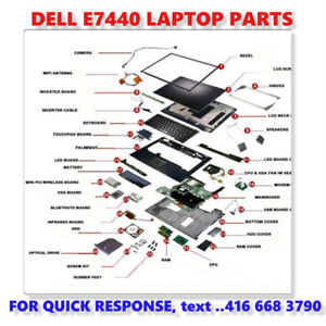 DELL E7440 ORIGINAL TESTED PARTS ONLY - Shipping Canada~Wide