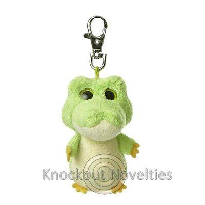Smilee The Alligator Yoohoo Clip Keychain Fun Key Chain  - Fun Keychains