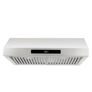 Cosmo 760 cfm Stainless Steel Under cabinet Range  Hood