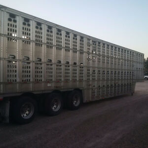2008 BARRETT 53 FOOT 3 DECK LIVESTOCK