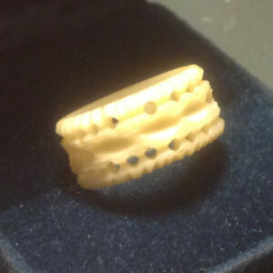 Antiques Mammoth Ivory Ring