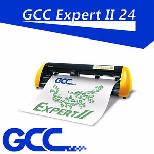 "GCC Americ EX II24"" vinyl cutter sign vinyl heat press #1 PC/MAC"