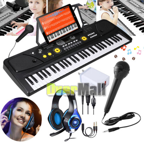 61 key electronic keyboard portable digital music