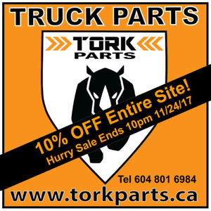 Hurry! 10% OFF All Truck Parts