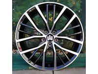 """17"""" Polo GTI style Wheels and Tyres for a VW Polo, Seat Ibiza, Skoda Fabia Etc"""