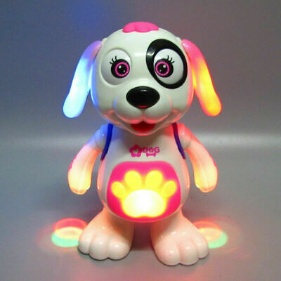 Toys For Girls Pink Light & Music Dog 1 2 3 4 5 6 7 8 9 Year Age Old Kids Gifts