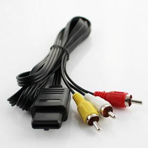 Av cables tv hook up for snes, n64 64, gamecube, super nintendo