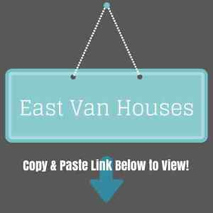 Free List of East Vancouver Houses with 3 or 4 Beds $1.2M