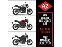 NEW Honda CB300R Neo Sports ABS. Choice of Colour. A2 Legal. £4,195 On The Road