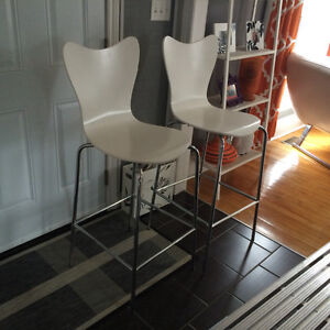 2 West Elm Bar stools