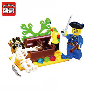 LEGO-COMPATIBLE: PIRATE TREASURE - NEW!!!