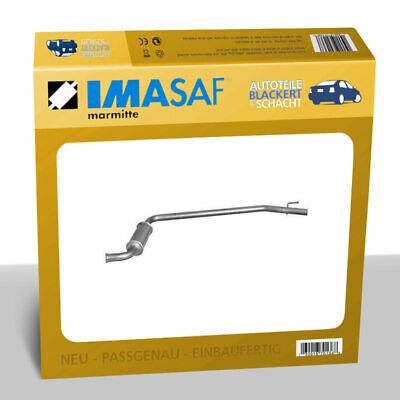 IMASAF Auspuff VSD für Renault + Opel Trafic + Vivario + Primastar 2.0