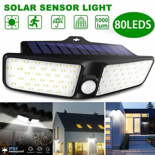 80LED Dual Security Detector Solar Spot Light Motion Sensor