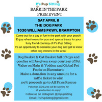 Bark in the Park Free Event