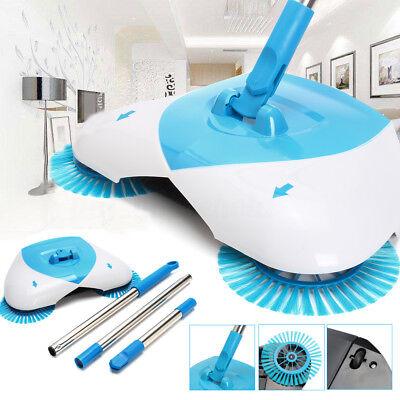 Automatische Hand Push Sweeper Spin Broom Bequem Haushalt Boden Reinigung Staub