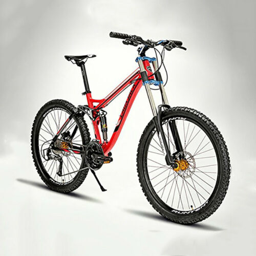 """Cool Mountain Bike Bicycle Cycling 24Speed 26"""" Double Disc Brake suspension fork"""