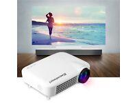 Excelvan HD LED Projector AV/VGA/HDMI/ATV/USB 1280*800 Home Theater 3000 Lumens