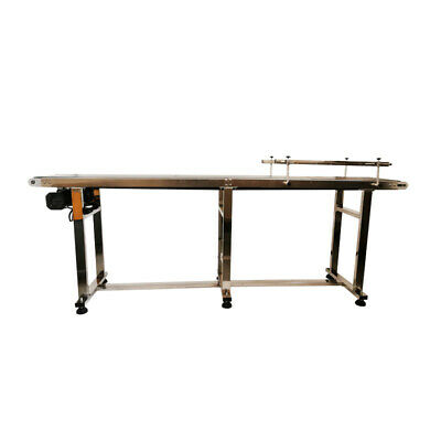 Updated 1 Pc 82.611.8210cm30cm Pvc Belt Conveyor Machine 200w Powered Usa