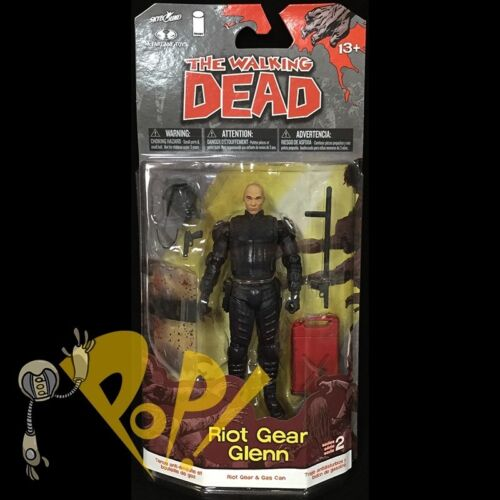 The Walking dead Comic Series 2 Riot gear Glenn
