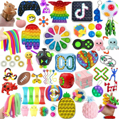 32 Pack Sensory Toys Set, Relieves Stress and Anxiety Fidget