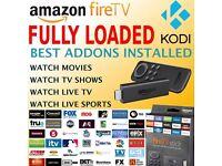 Amazon Fire Stick FULLY LOADED KODI WATCH FREE MOVIES - TV SHOWS - SPORTS -