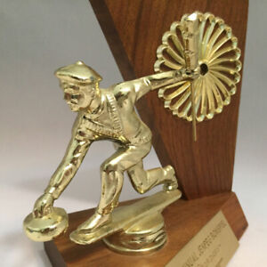 Wanted - Donations  Old Curling Trophies