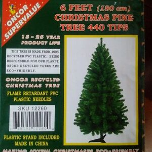 6ft. Artificial Christmas Tree