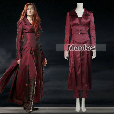 Cool Movie X-Men Dark Phoenix Jean Grey Women Cosplay Costume Red Suit Halloween - Costume Phoenix