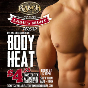 The Ranch Roadhouse Ladies Night (2) Tickets