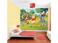 Walltastic Paper Walltastic Disney Winnie the Pooh Mural /Pack of 1 305 x 245 cm