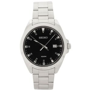 Seiko Watch- Stainless Steel case and bracelet