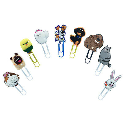 2pcslot Pets Life Paper Clips Bookmarks Office Binder School Stationery As Gift