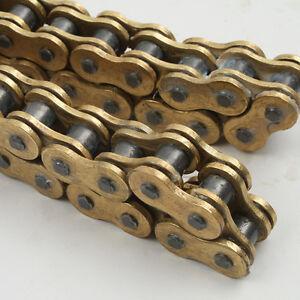 Gold 530x120 O-Ring Drive Chain For Suzuki GSXR 1000 GSX-R750 GSX1300R 120 Links
