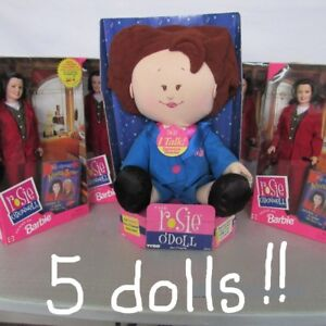 LOT of  5 Rosie O'Donnell Dolls NEW- NEVER OPENED Sacrificing!