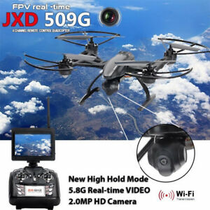 Drone Quadcopter JXD509 FPV 2.4Ghz 4CH RC 6axis