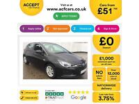 Vauxhall/Opel Astra FROM £51 PER WEEK!
